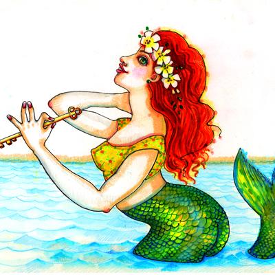 Juditta Musette - Mermaid